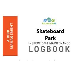 Skateboard Park Inspection and Maintenance Logbook