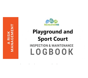 Playground and Sport Court Inspection & Maintenance Logbook