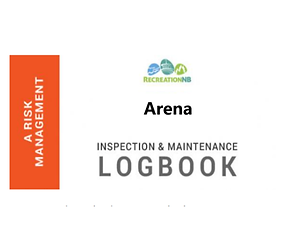Arena Inspection and Maintenance Logbook