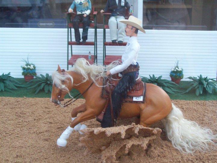 Kentucky world equestrian model