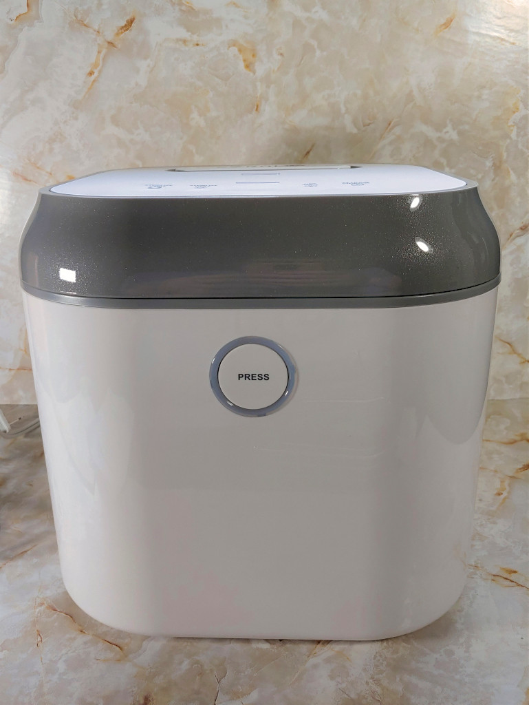 Coral UV 3-in-1 Ultraviolet Sterilizer and Dryer from the front.