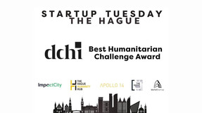 Startup Tuesday The Hague - DCHI - Best Humanitarian Challenge Award
