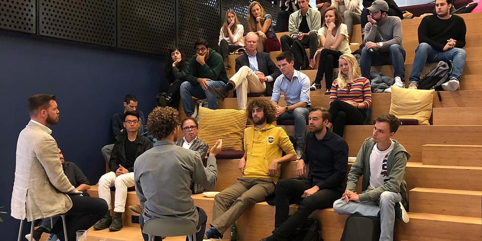 World Startup Factory & The Hague Tech   Rinze de Vries