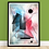 Thumbnail: Fragments 002 | Framed Abstract Painting on 300gsm Textured Paper