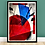 Thumbnail: Fragments 001   Framed Abstract Painting on 300gsm Textured Paper
