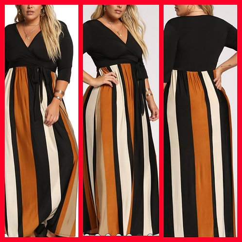 """Golden""Maxi Dress"