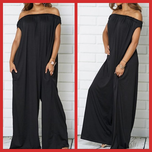 One Piece Off-Shoulder Jumpsuit