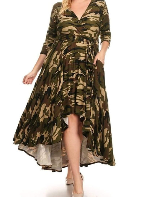 """""""Carrie"""" Camouflage Dress"""
