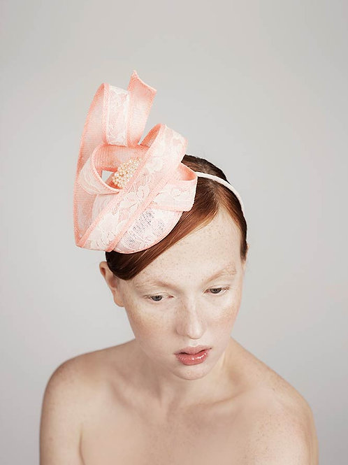 Pink Pearl Hat