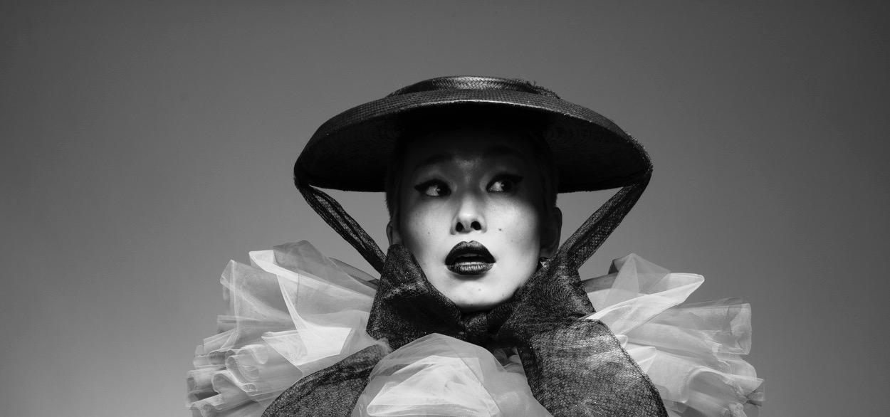 Bespoke hat by Elena Shvab for Emergency