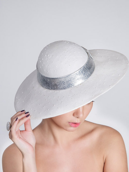 Silver Glam Hat