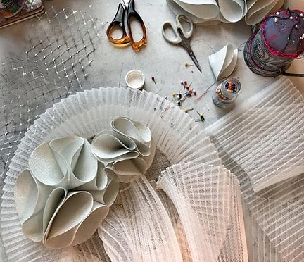 Working with Crinoline