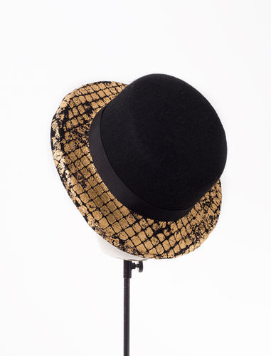 Chesster, A/W Tenera collection 19, Handcrafted by Elena Shvab Millinery