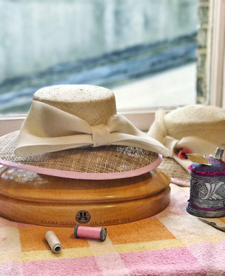 Straw hat workshop