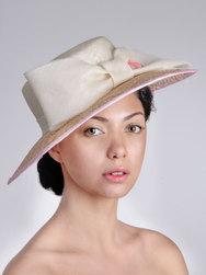 Elaiza hat, Elena Shvab Millinery sample sale.jpg