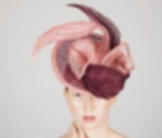 Gloria bespoke hat by elena shvab millinery as seen in Tatler