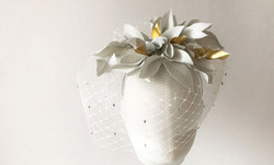 Bridal hat collection elena shvab millinery