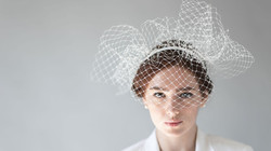 Elena Shvab Millinery Bridal Hat Collection Jane Veil hat