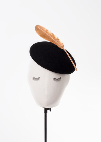 Barny, A/W Tenera Collection 19, Handcrafted by Elena Shvab Millinery