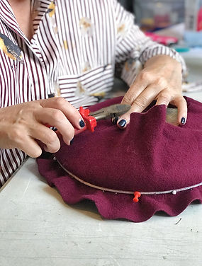felt hat workshop class by elena shvab millinery