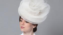 Elena Shvab Millinery Bridal Hat Collection Pavlova hat