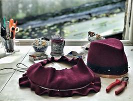 Felt Hat Workshop, Elena Shvab Millinery