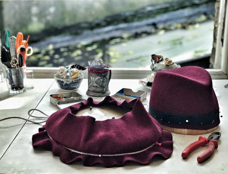 Felt Hat Workshop, Elena Shvab Millinery