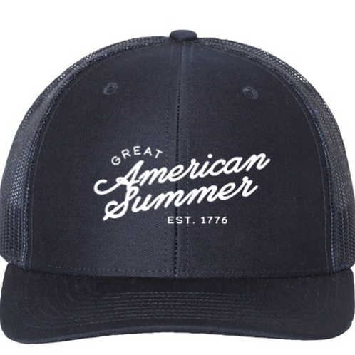 Great American Summer Trucker Hat