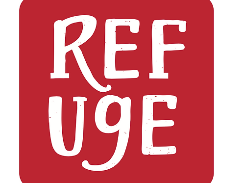 "Refuge 3"" Square Sticker"