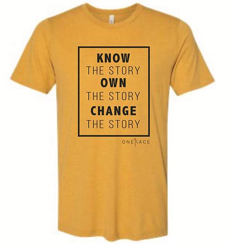 Know, Own, Change Crewneck Shirt