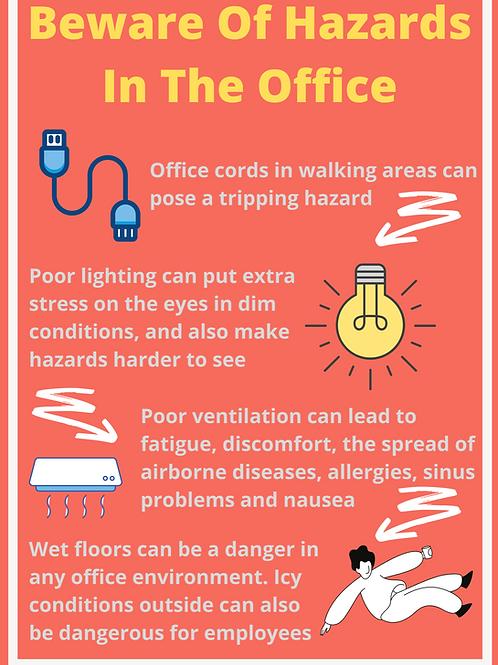 Office Hazards Poster