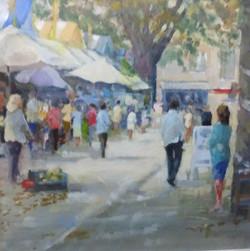 Shoppers, Norwich Market