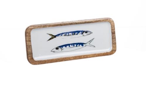 Small mackerel platter
