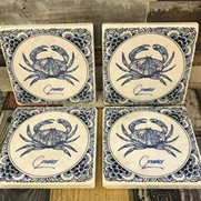 Cromer Crab coasters £6 each or 4 for £20