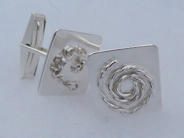 fj cufflinks rope