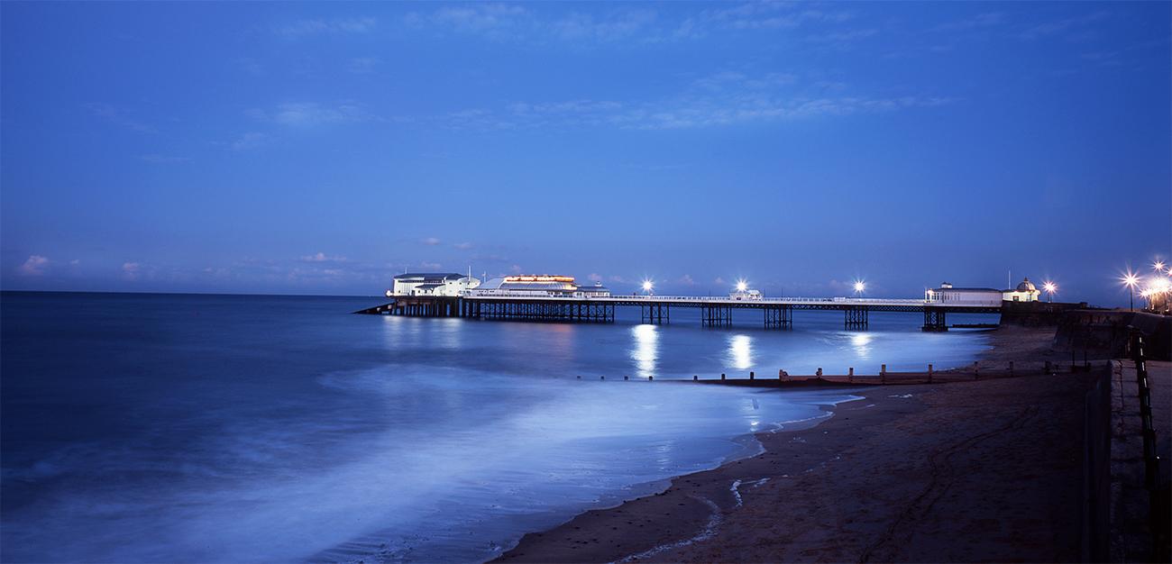 The illuminated pier