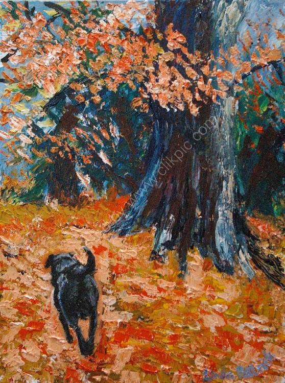 LP Orange Leaves