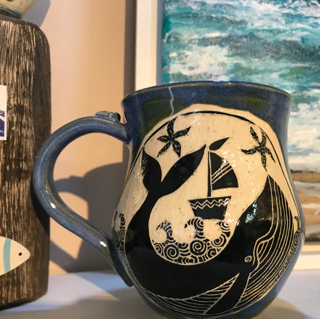 Whale mugs £20.00