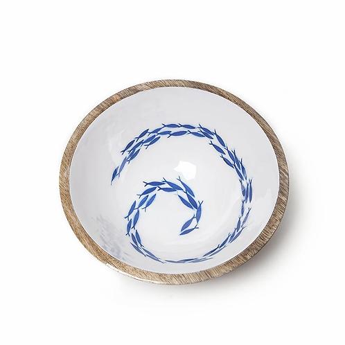 30cm Fish Swirl Bowl