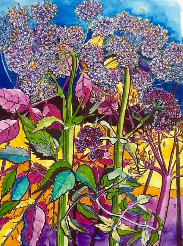 Sue Johnston Hedgerow