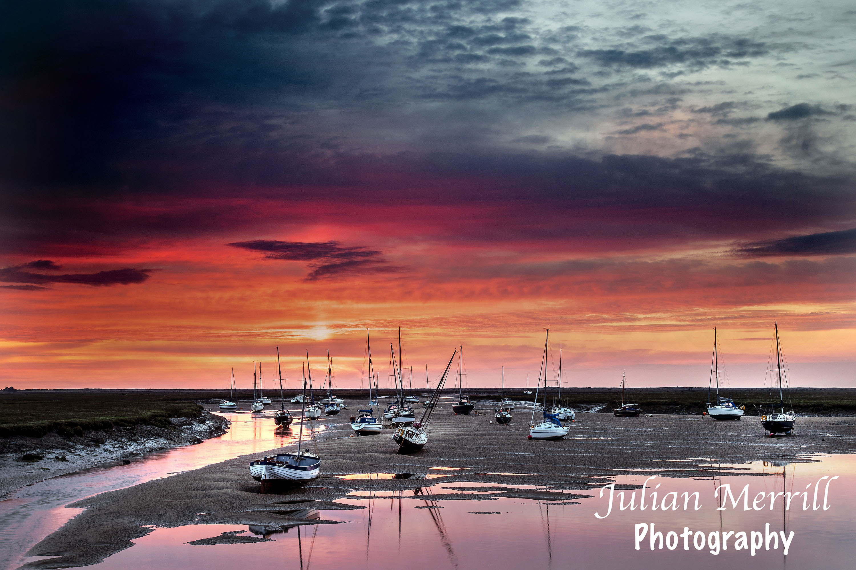 Wells Harbour Sunrise