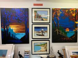 Robert Downie Gouache paintings and prints
