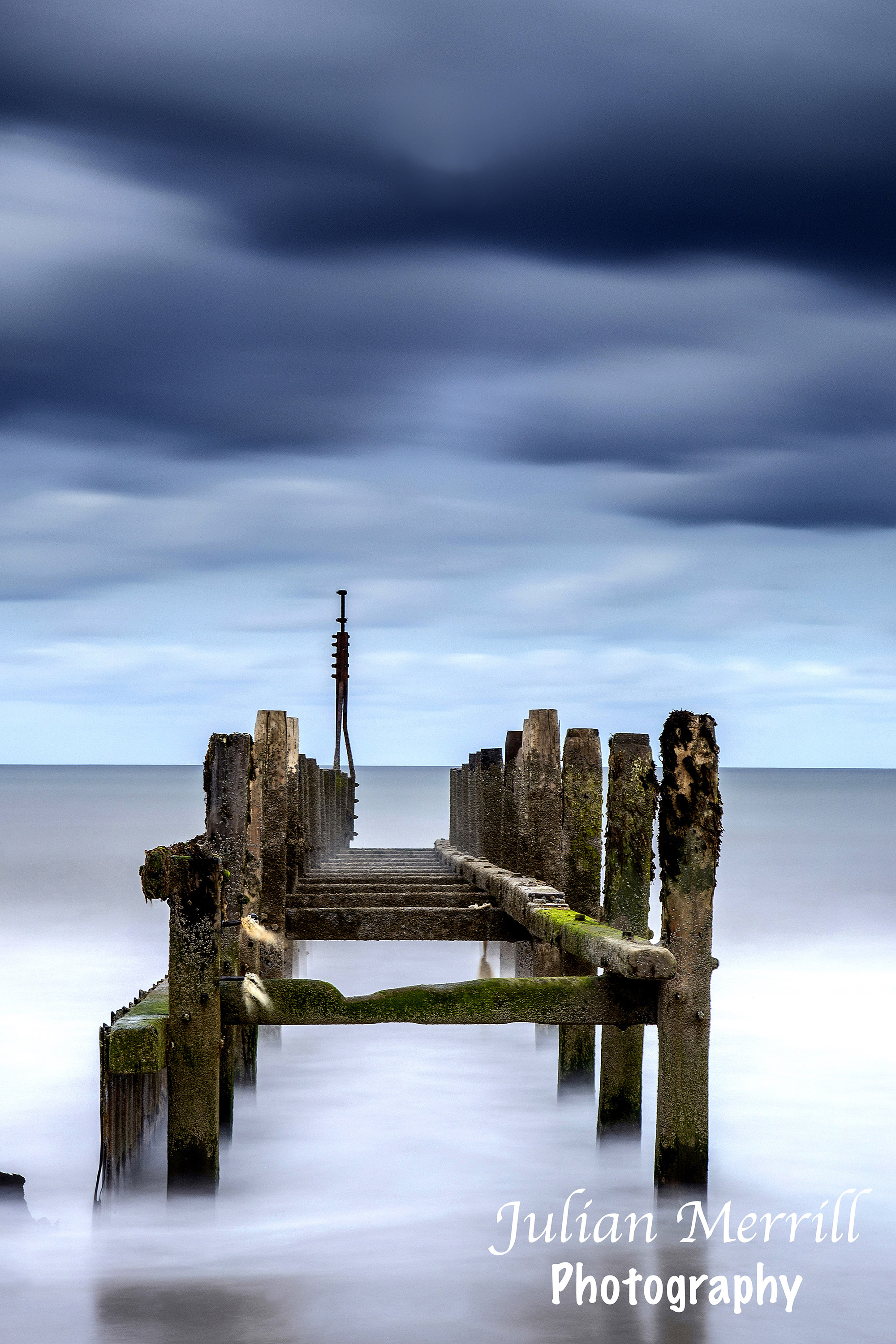 Happisburgh Beach Storm Clouds