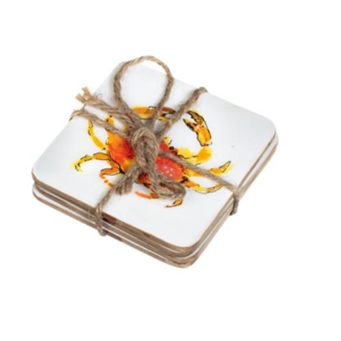 Cromer Crab coasters