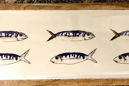 Large mackerel platter