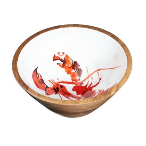 25cm Lobster bowl