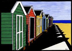 Beach Huts at Cromer £50.00