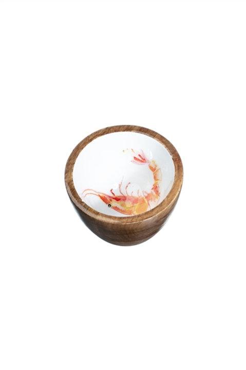 Prawn nut bowl