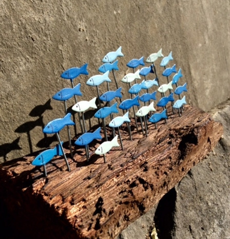 Shoal of Anchovies. £15.00