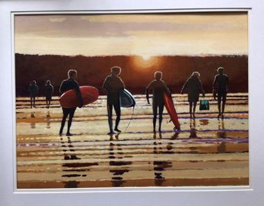Surfers return